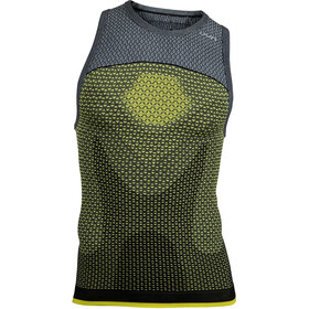UYN Running Alpha OW Camiseta sin mangas running Hombre, tonic yellow/sleet grey